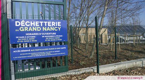 Déchetteries du Grand Nancy : reprise des horaires habituels dès le lundi 1er juin