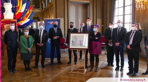 Vidéo. Retrouvée en Ukraine, la toile volée de Paul Signac restituée à Nancy
